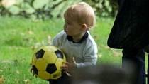 Pro fotbal má slabost celá rodina.
