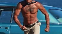 Jeremy Meeks má perfektní figuru.