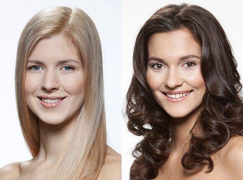 Dívka číslo 7, Barbora Zelená a číslo 8, Lucie Klukavá