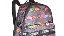 LeSportsac tašky vynikají nepromokavým a netrhavým materiálem z rip-stop nylonu a svou lehkostí.