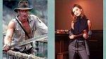 Harrison Ford a Calista Flockhart ve svých nejznámějších rolích.