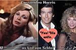 Herečka Cassandra Harris coby komtesa Lisl von Schlaf