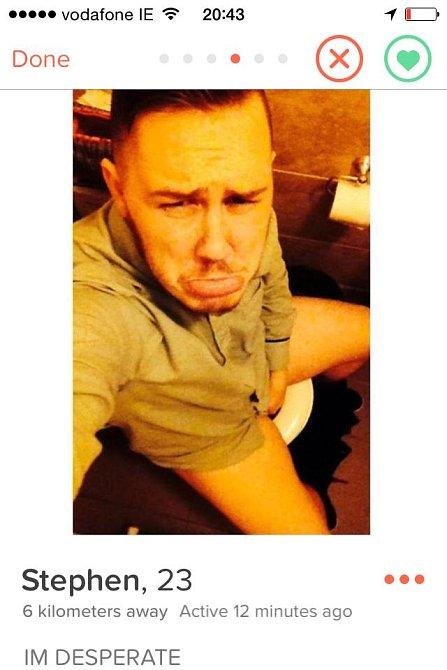 Proč dávat na seznamku fotku ze záchoda? Proč?