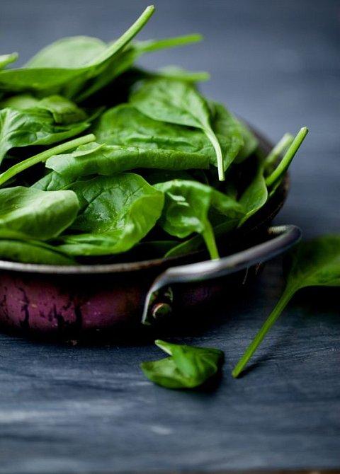 Listovou zeleninu vybírejte v co nejvyšší kvalitě.