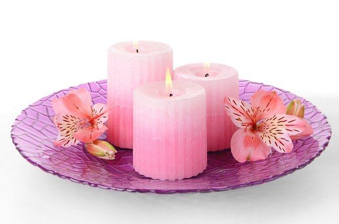 Aromatické svíčky už nikdy více.