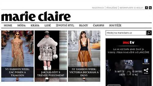 Vzkřísit online Marie Claire byla radost!
