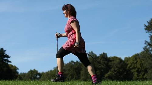 2 sporty na podzim – Nordic walking a spinning