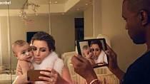 Kanye West a Kim Kardashian - fotografie v časopise Vogue