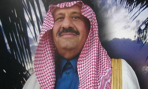 Princ Khaled, synovec saúdskoarabského krále
