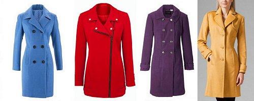Móda: Barevné kabáty + bohatá dávka inspirace