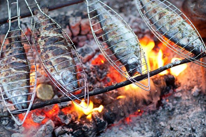 Máte-li ryby na talíři často, pořiďte si speciální grilovací mřížky.