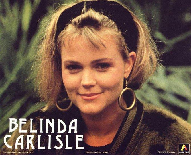 80. léta - Bellinda Carlisle