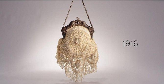 Vzhled kabelky - rok 1916