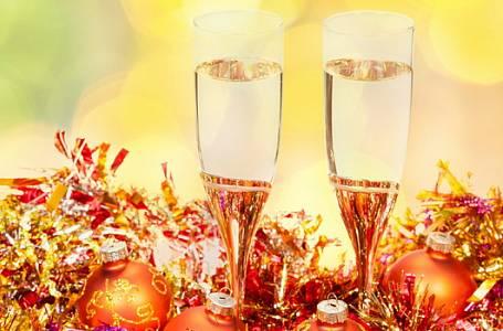 Silvestrovské koktejly