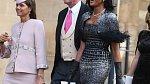 Naomi Campbell na královské svatbě
