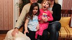 Karel Gott a dcery Charlotte Ella, Nella Sofie a Dominika