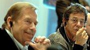 Lou Reed a Václav Havel