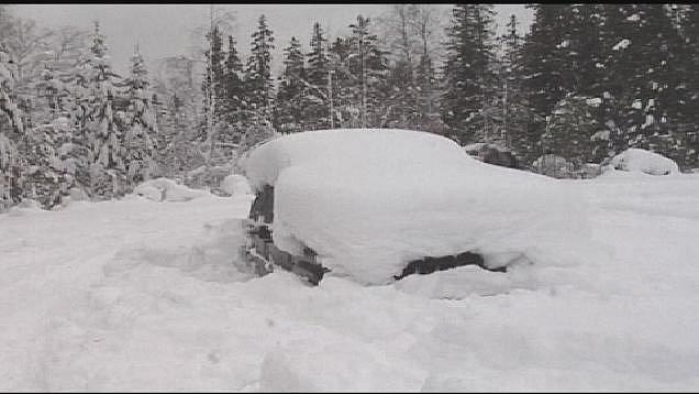 Peter Skyllberg - Přežil dva měsíce zapadlý sněhem v autě