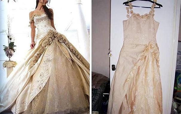 Svatební šaty: Reklama versus realita