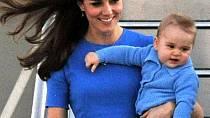 George s maminkou Kate