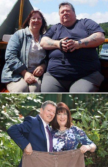 Tito manželé dokonce vyhráli soutěž v hubnutí. První místo si jistě zasloužili!