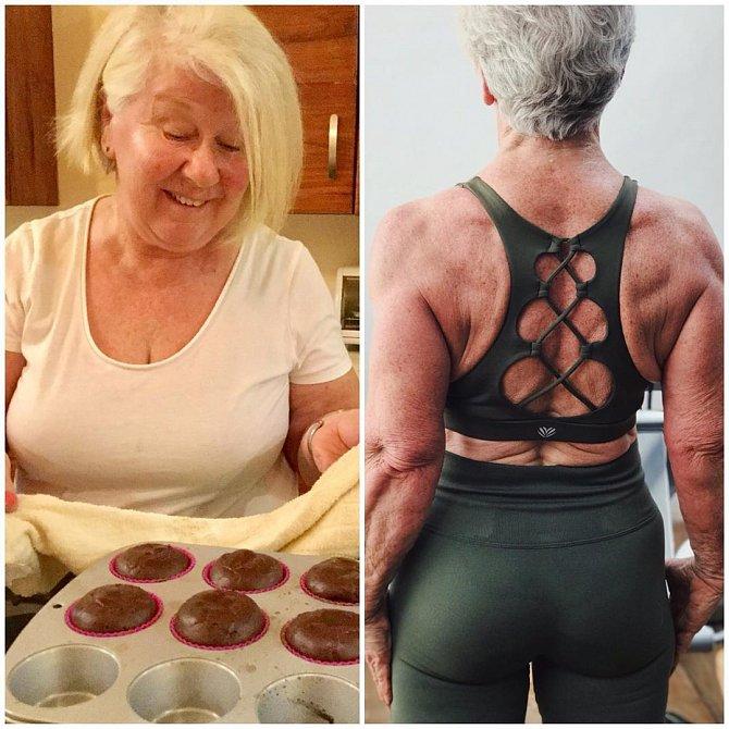 Joan MacDonald celý život bojovala s váhou.
