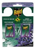 Raid Gel sáčky proti molům