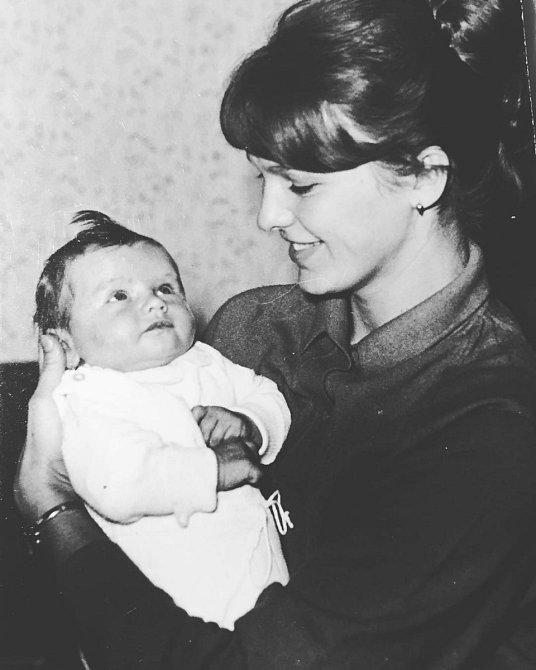Adriana Sklenaříková se svou matkou