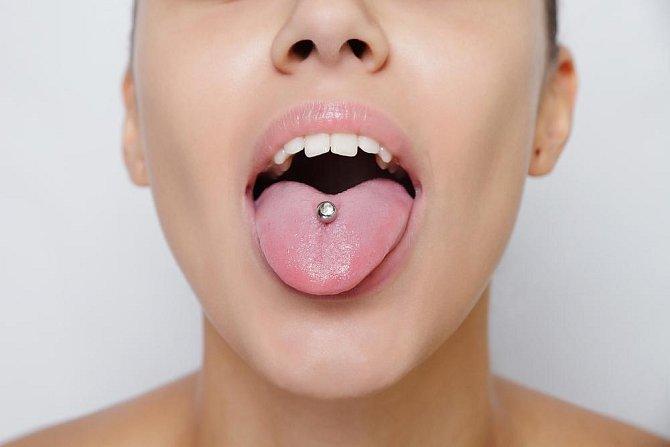 Ilustrační foto - piercing
