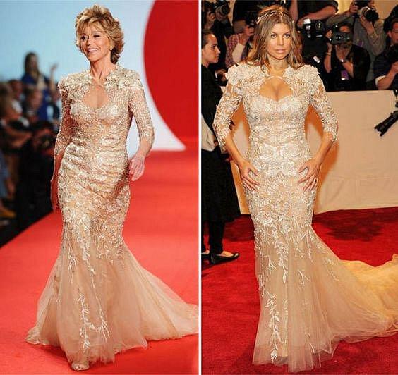 Jane Fonda a Fergie