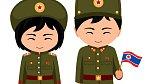 Severní Korea: muži - 59 kg, ženy - 47 kg