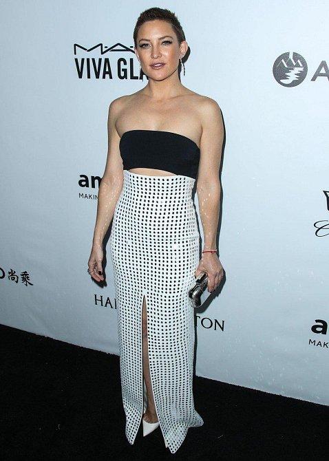 Kate Hudson se už nemůže dočkat, až ji zase narostou vlasy.
