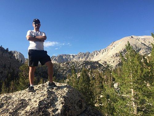 Výprava na vrchol Sierra Nevady (Mont Langley, 4300m)