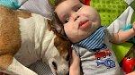 Gavina chrání rodina i domácí mazlíčci.