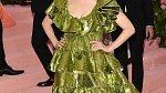 Kombinace zelené a třpytu byla moc i na Julianne Moore!