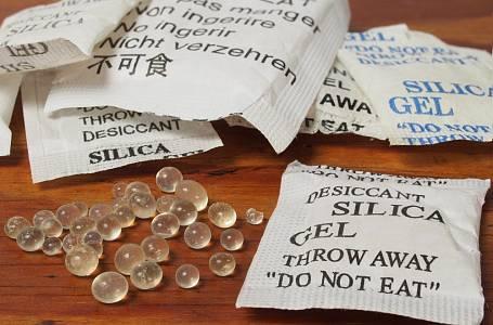Silikagel - kuličky, které určitě nevyhazujte