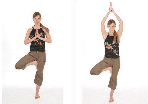 Cvičení, protažení, rovnováha