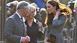 Princ Charles s manželkou Camillou a snachou Kate