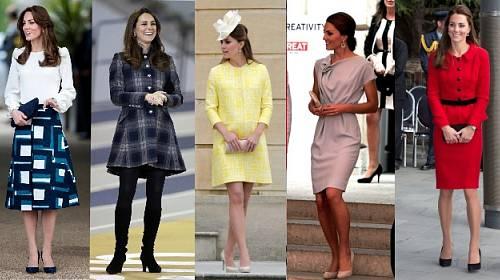 """""""Pracovní"""" oděv Kate Middleton"""