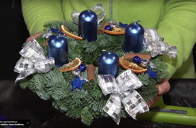 Dominantou věnce jsou svíčky, při jejich výběru buďte obzvláště pečliví