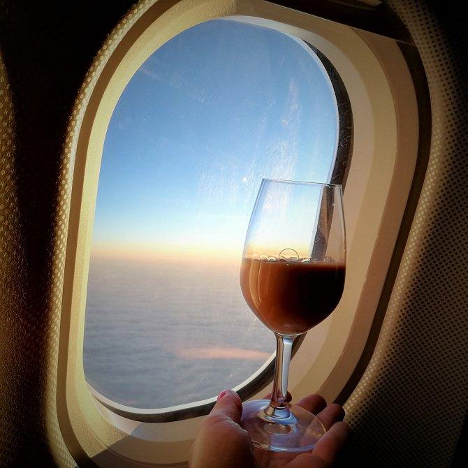 Létání si během své kariéry luxusní společnice užila dost a dost.