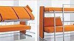 Tento inovativní kus nábytku dokážete přeměnit z pohovky do dvoupatrové postele za pouhých 12 sekund.