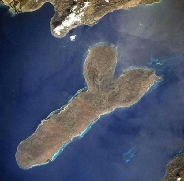 Optické iluze - jenom ostrov