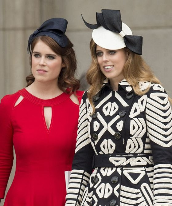 Princezny Eugenie a Beatrice si velice dobře rozumí.