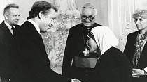 Václav Havel s Olgou se setkali i s matkou Terezou.