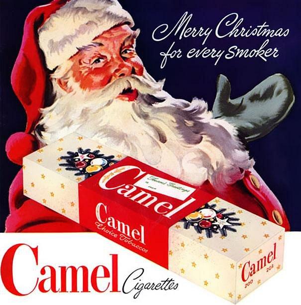 Kouřící Santa