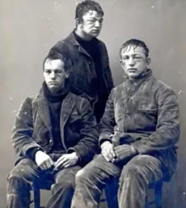Studenti Princtnu po sněhové bitvě