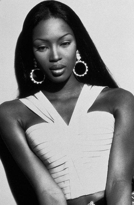 Naomi Campbell: Černá labuť mezi bílými