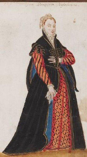 Ilustrační foto - středověká těhotná žena