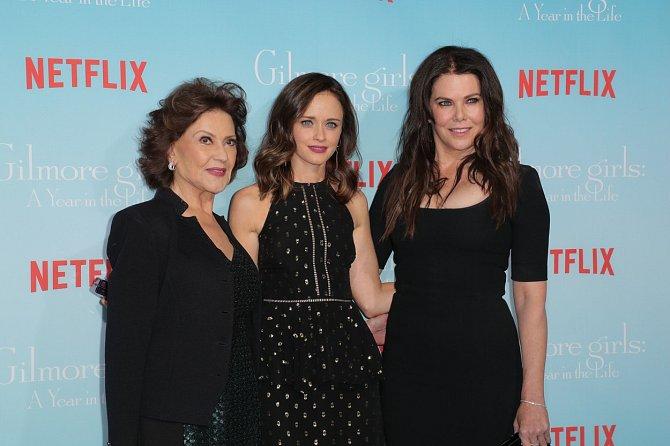 Lauren Graham se svými seriálovými kolegyněmi